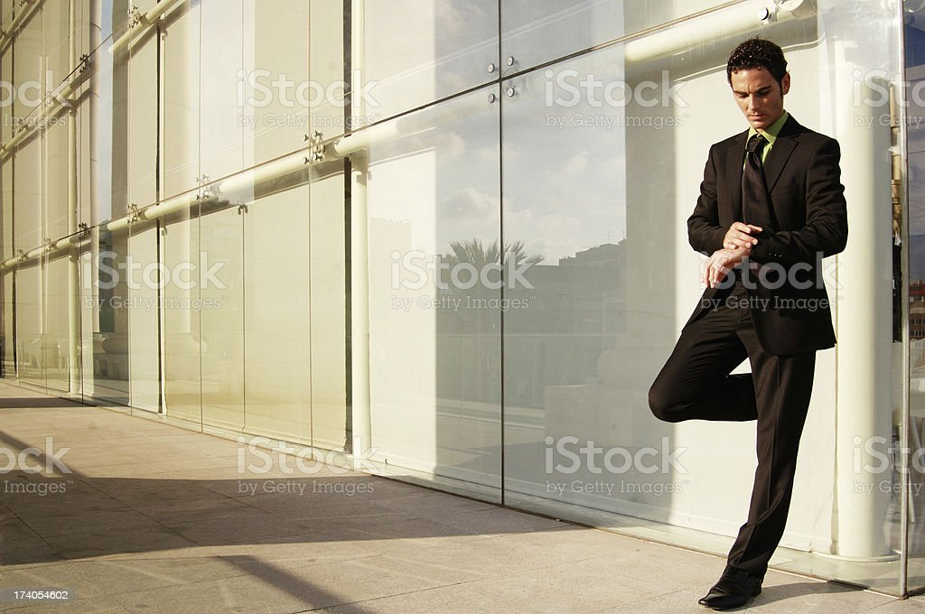 Waiting for her… royalty-free stock photo