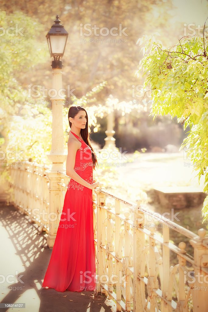 Waiting for  love royalty-free stock photo