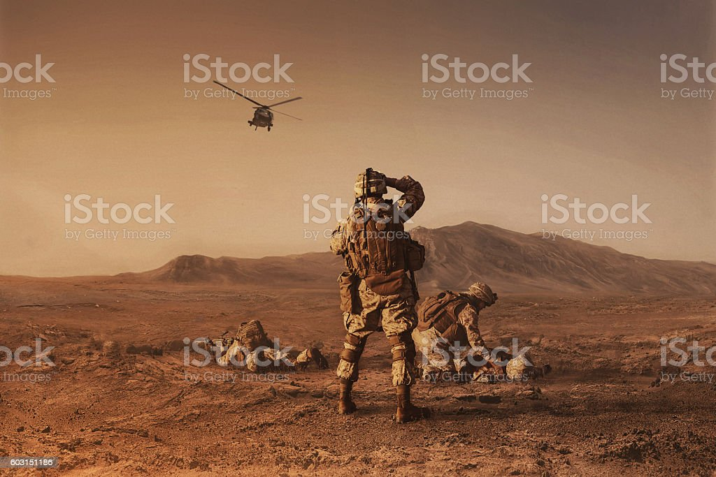 waiting for medevac bird stock photo