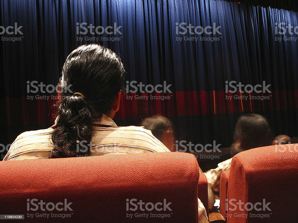 Waiting For Show royalty-free stock photo