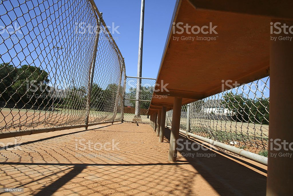 waiting for the game royalty-free stock photo