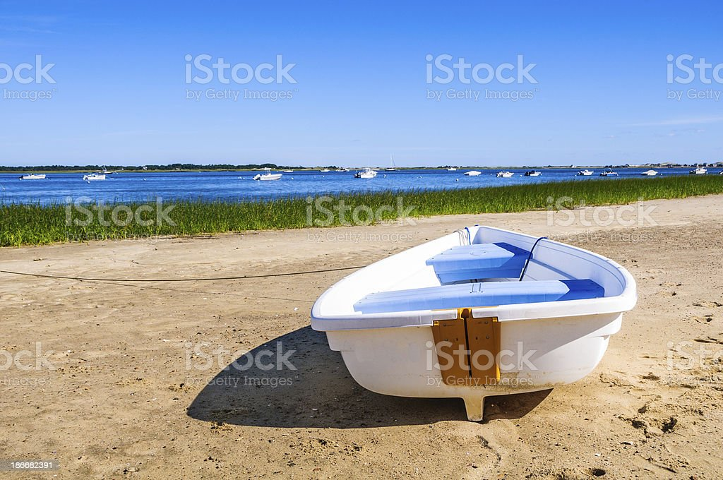 Waiting for the Next High Tide royalty-free stock photo