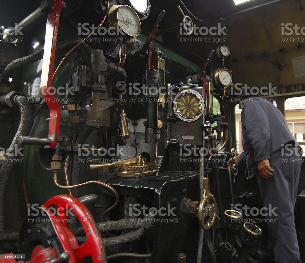 Waiting for the Off, Yorkshire stock photo