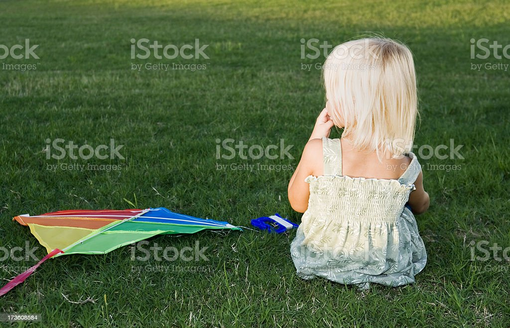 Warten auf den Wind Lizenzfreies stock-foto