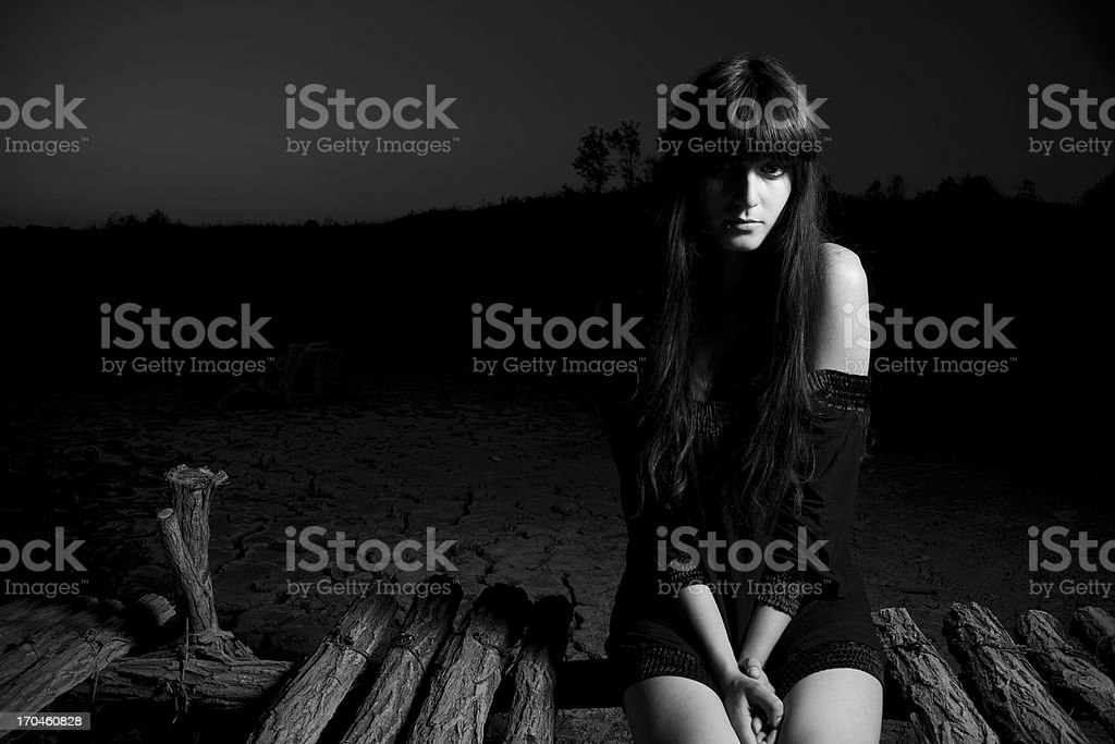 waiting for you royalty-free stock photo