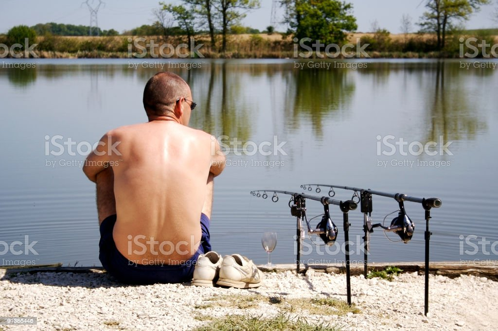 Waiting game... royalty-free stock photo