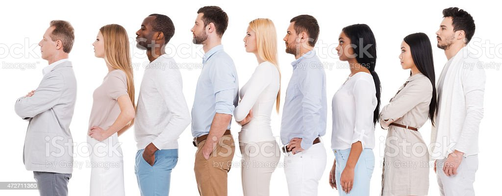 Waiting in a stock photo