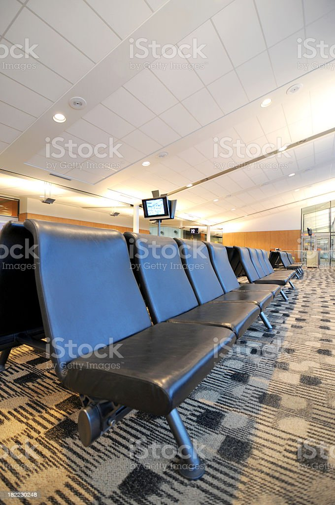 Waiting Lounge royalty-free stock photo