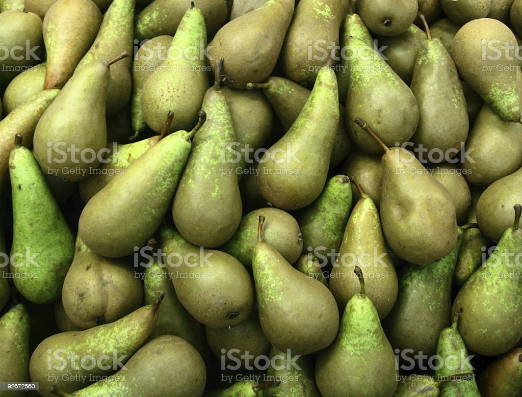 Waiting Pears royalty-free stock photo