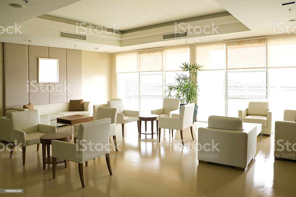 Waiting Room royalty-free stock photo