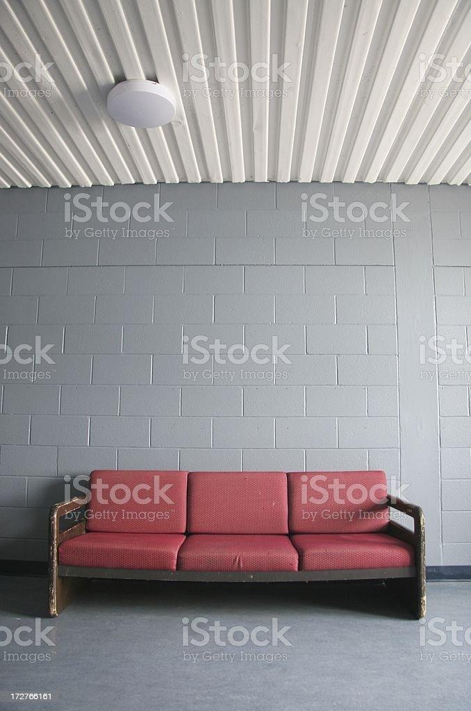 Waiting Room Wide Angle stock photo