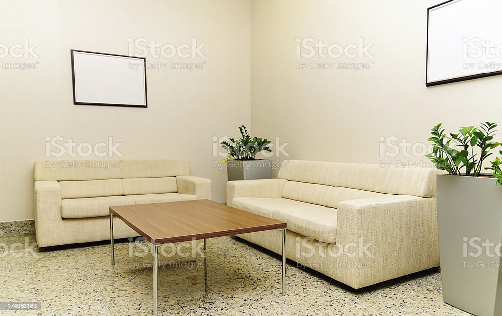 Waiting Room XXL royalty-free stock photo