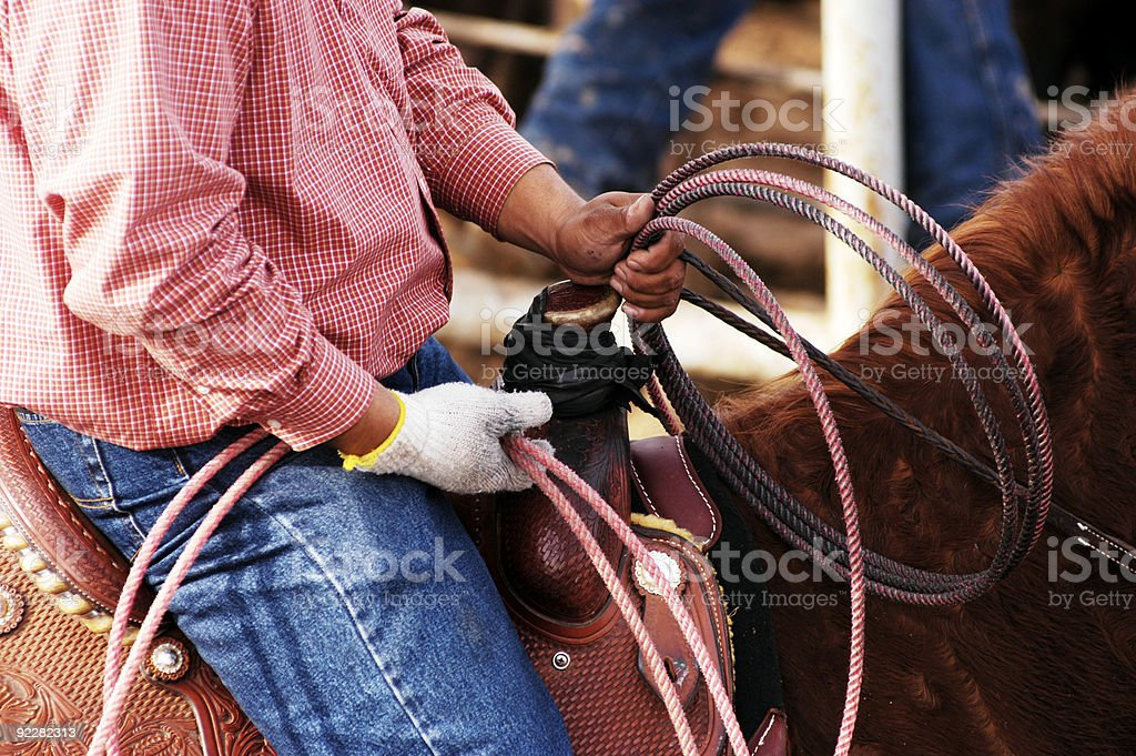 Waiting to compete. royalty-free stock photo