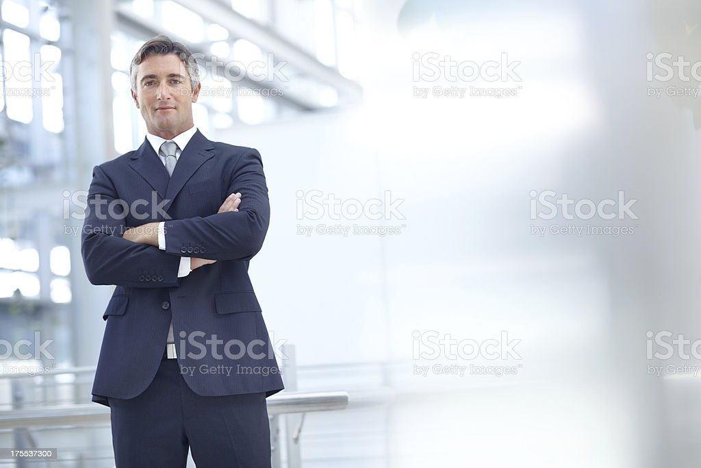 Waiting to help you shape your financial future stock photo