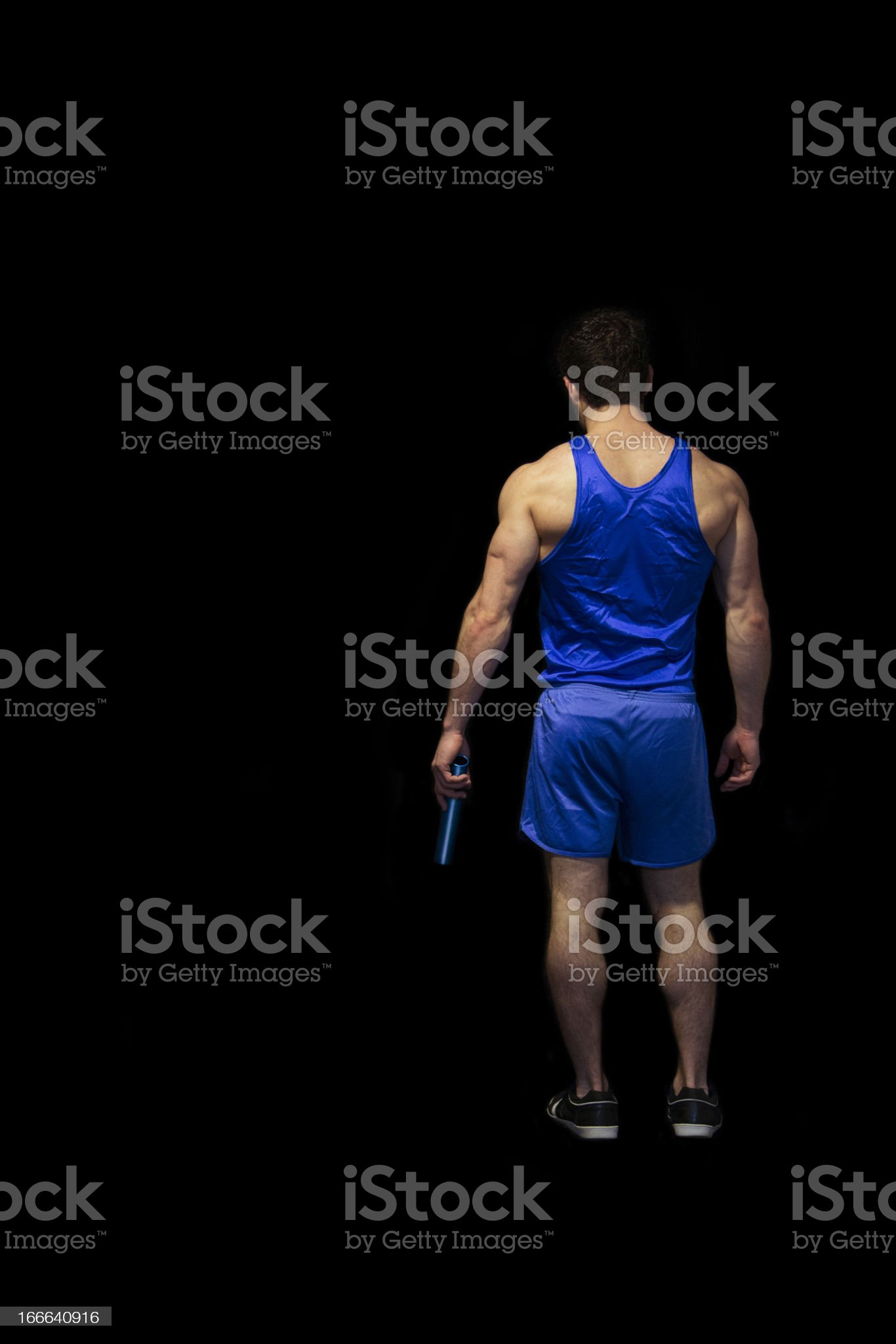 Waiting to Race royalty-free stock photo