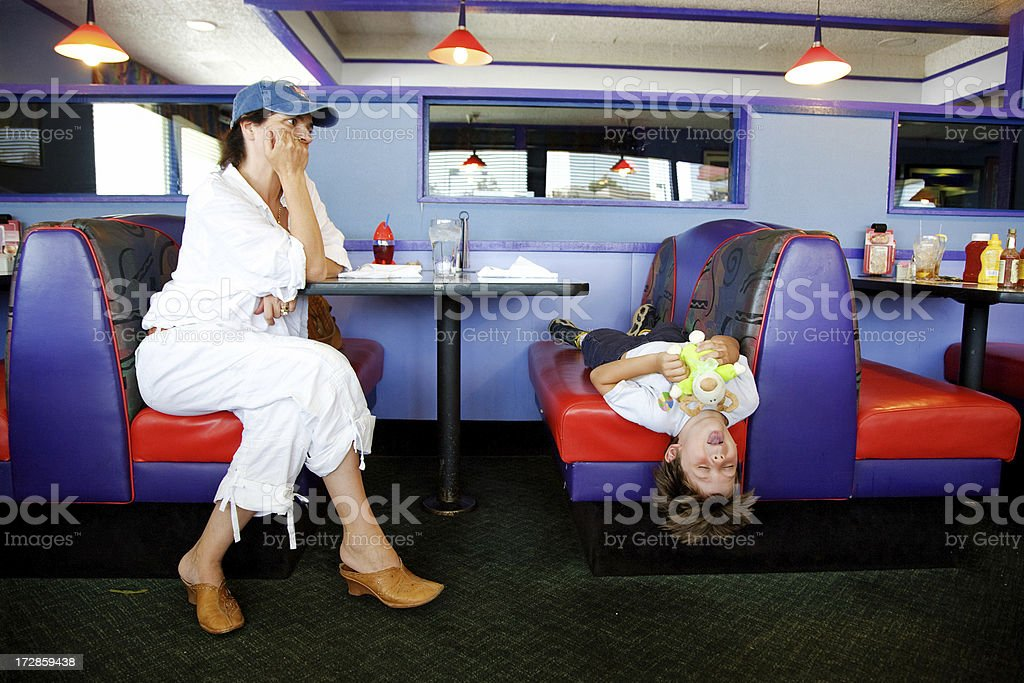 Waiting Too Long For Food royalty-free stock photo