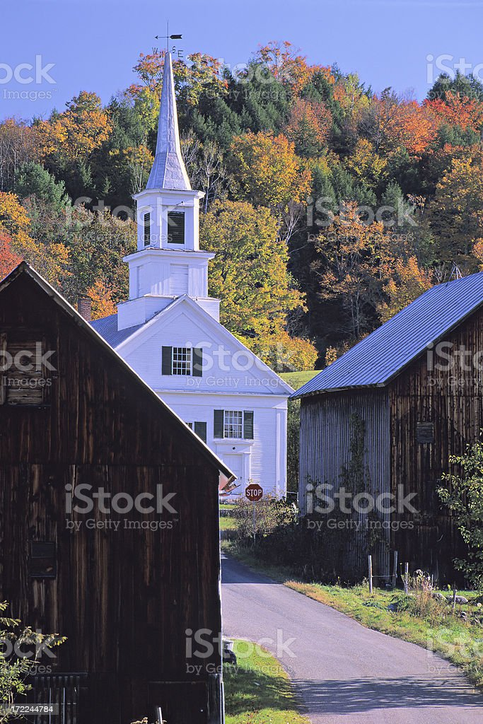 Waits River Vermont royalty-free stock photo