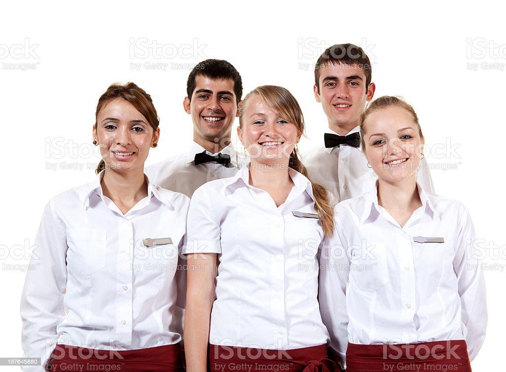 Waitstaff royalty-free stock photo