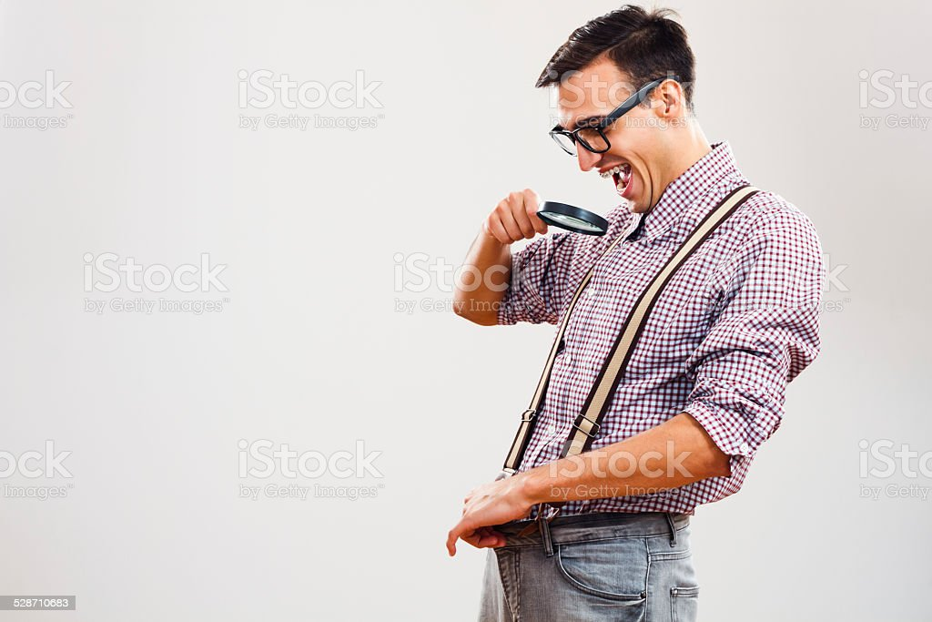 Wait,wait...I think I see some changes! stock photo
