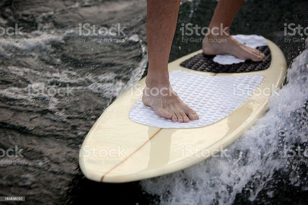 Wake Surfing stock photo