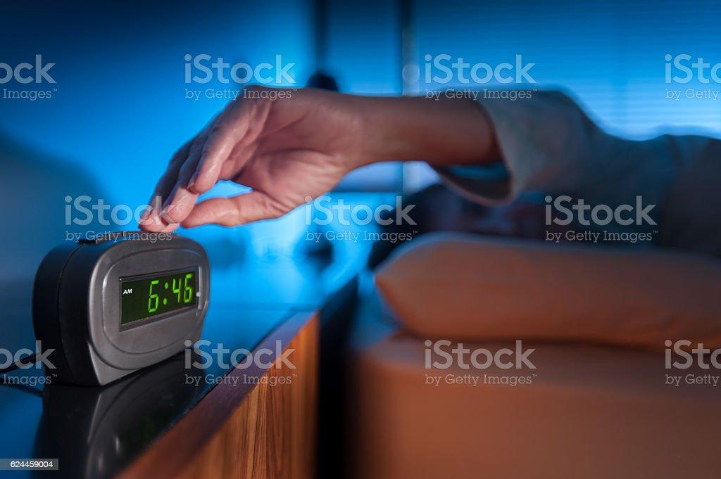 Wake up alarm stock photo