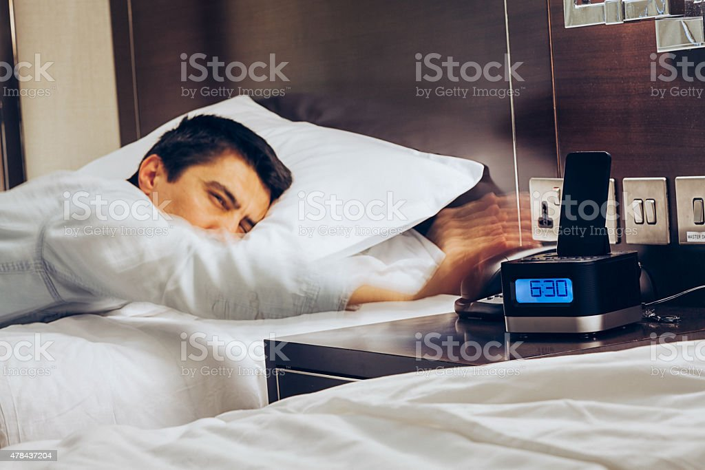 Wake Up Early Time stock photo
