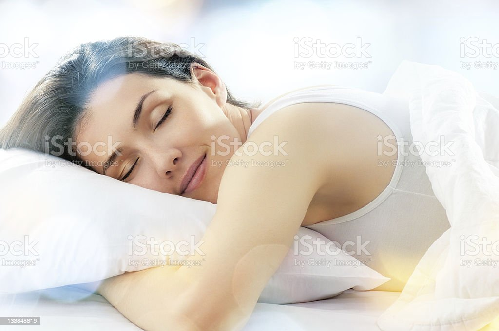 wake up stock photo