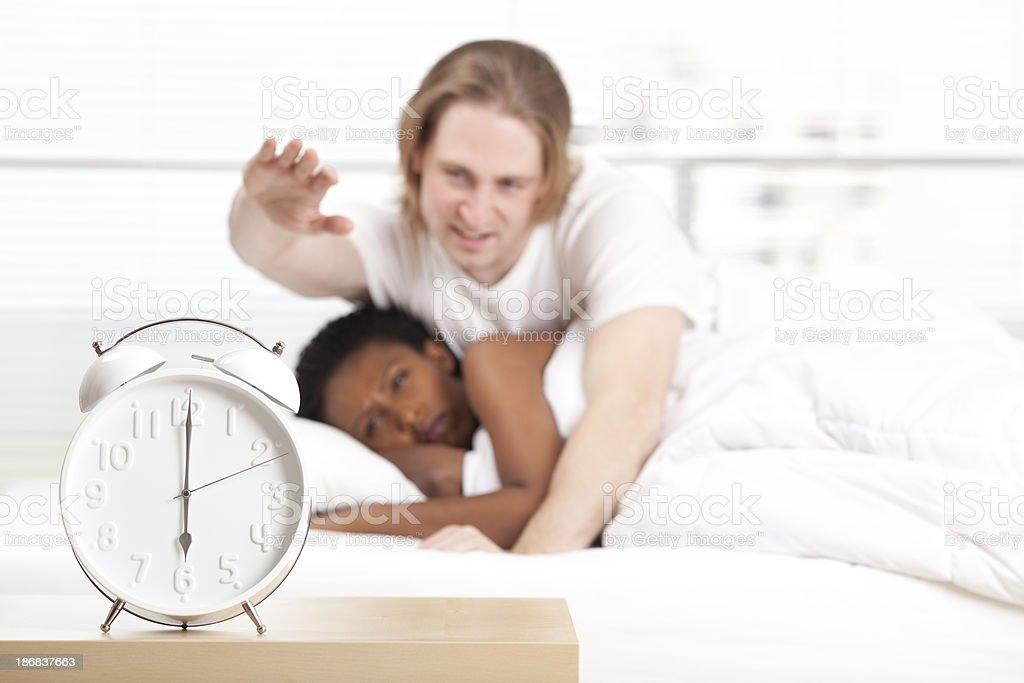 Wake up. stock photo