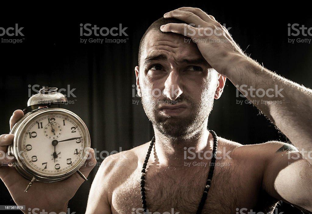 Wake up! royalty-free stock photo