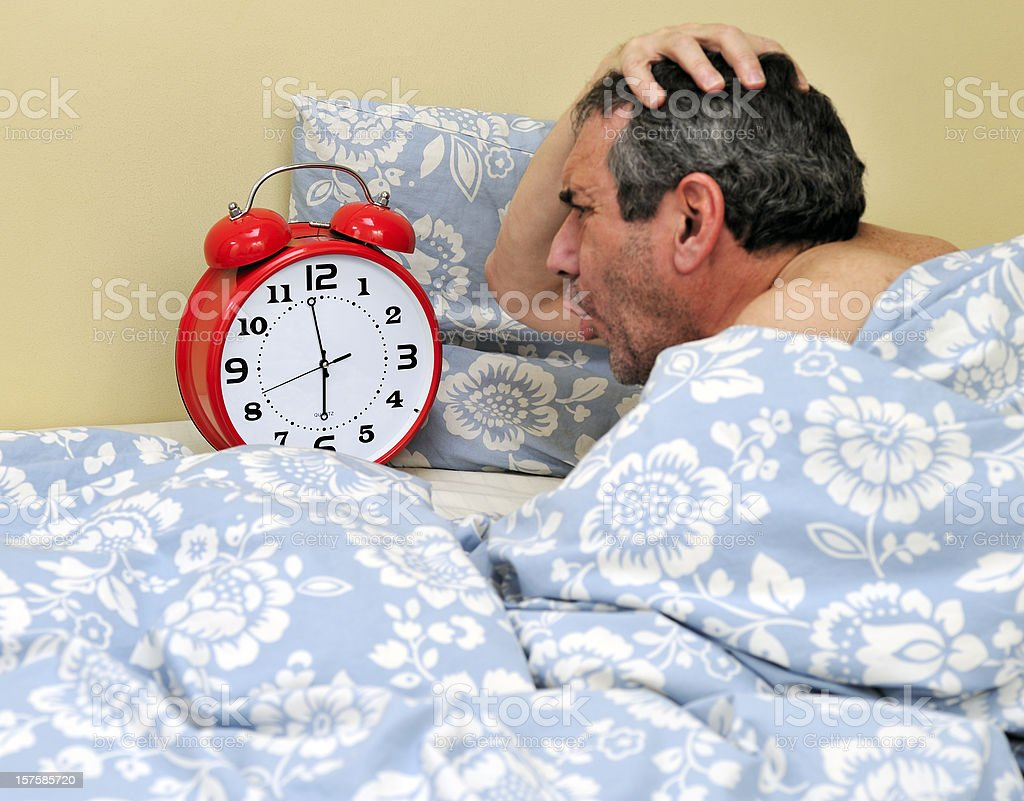 Wake up time royalty-free stock photo