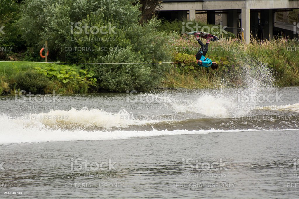 wakeboard 12 stock photo