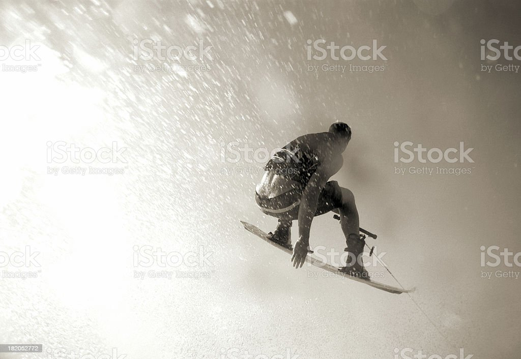 wakeboard air royalty-free stock photo