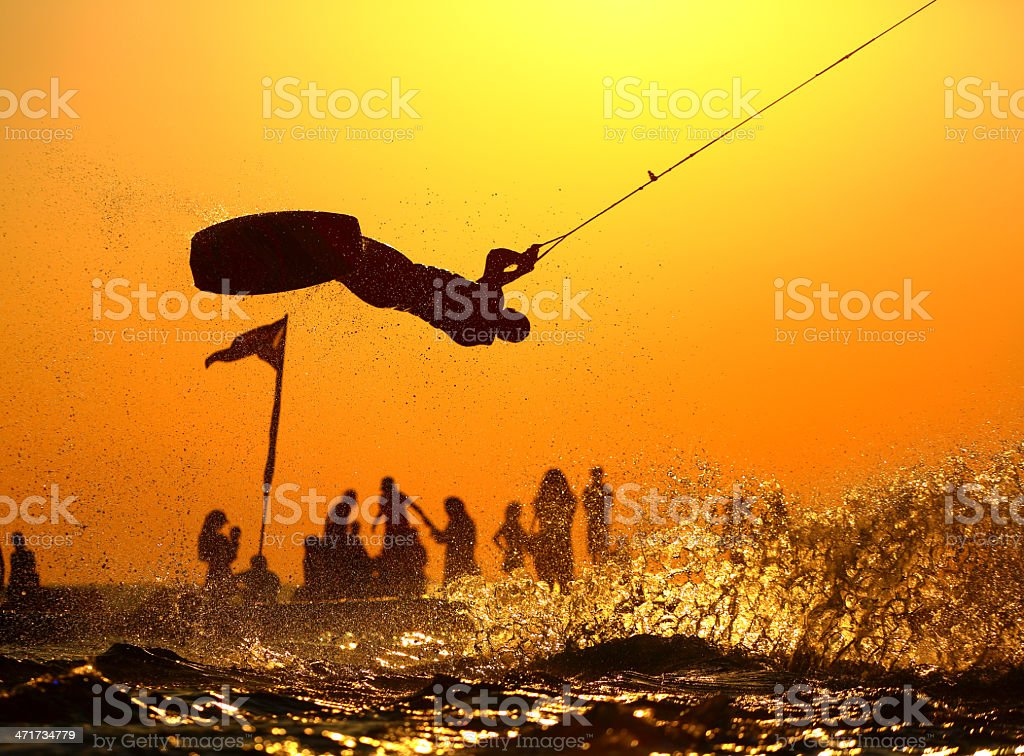 Wakeboard royalty-free stock photo