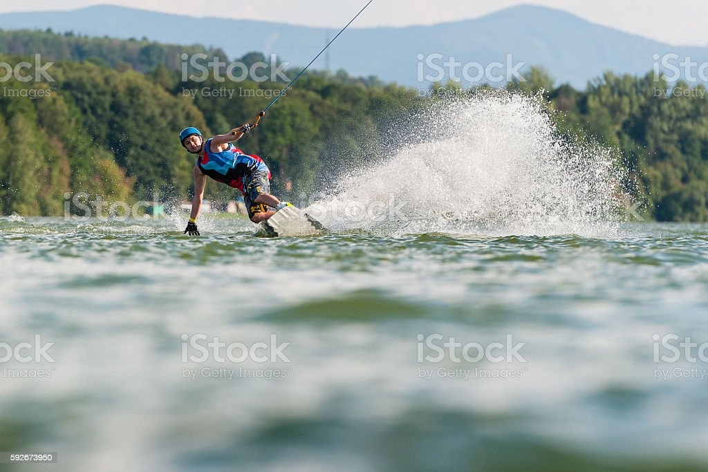 Wakeboard Water Sport stock photo