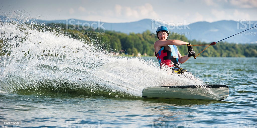 Wakeboard Water Sport stock photo