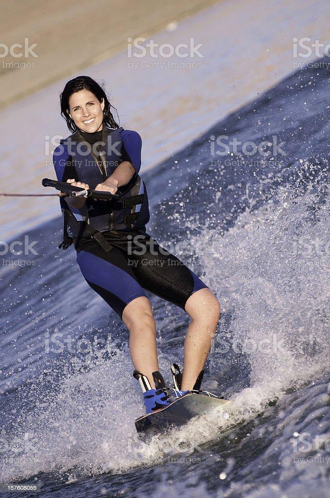 Wakeboarding Fun royalty-free stock photo