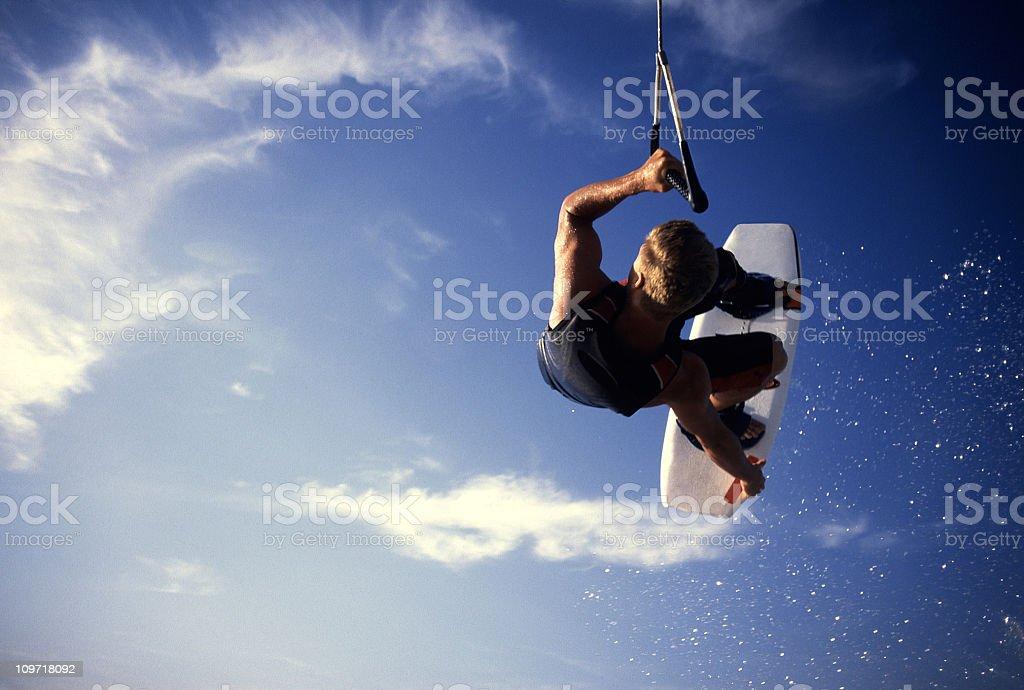 wakerboard air stock photo