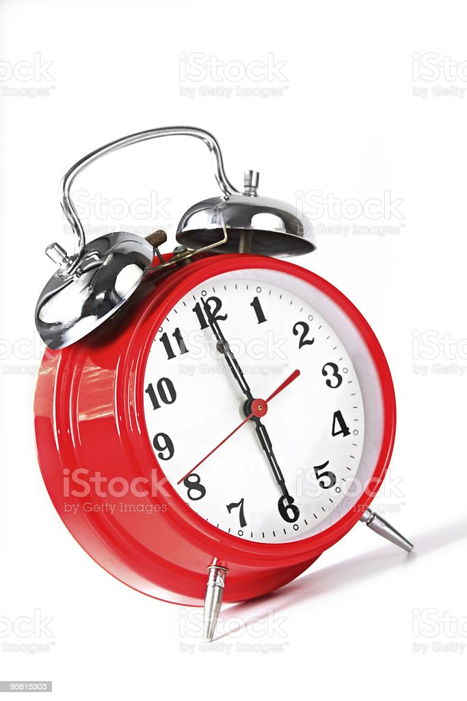 Wake-Up Call stock photo