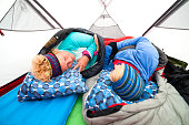 Waking up cold in a tent
