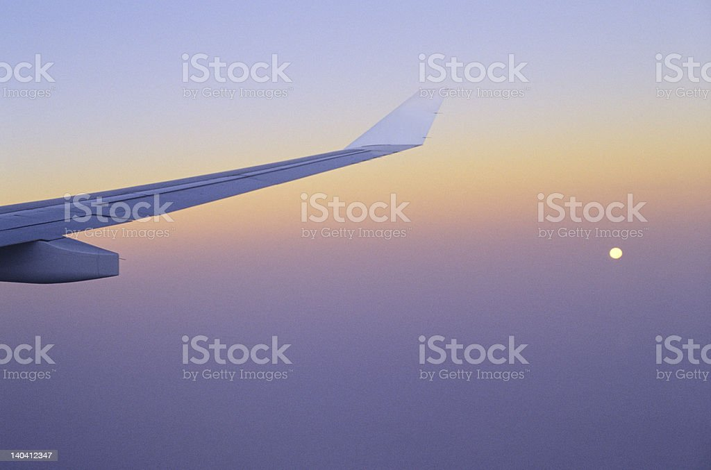 Waking Up in the Sky royalty-free stock photo