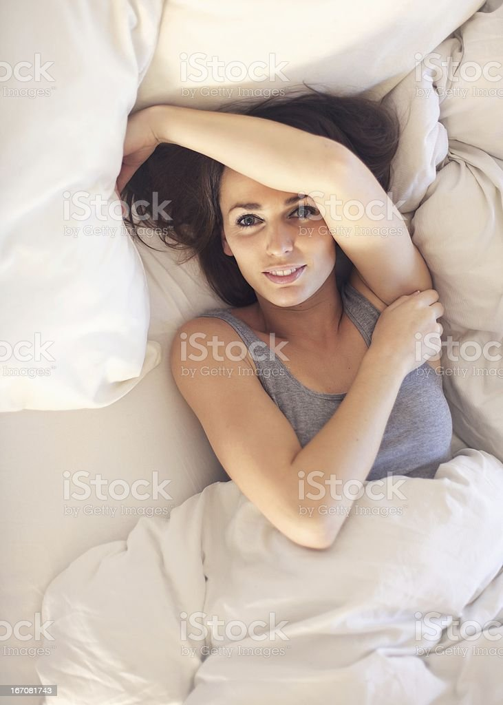 Waking Up to a Great Morning stock photo