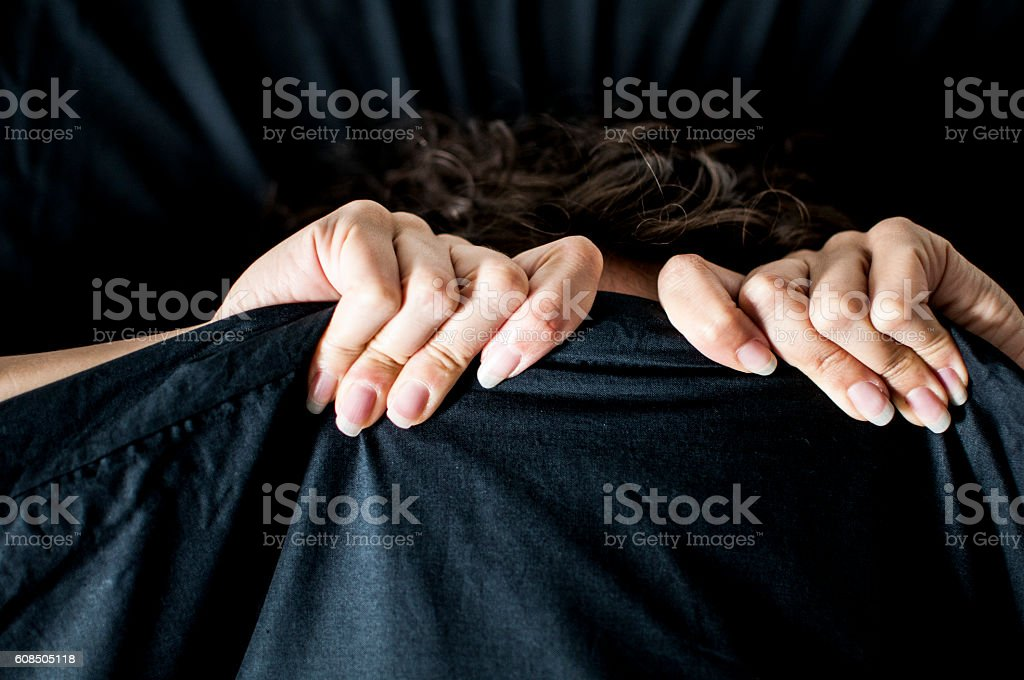 waking up too early on Monday morning stock photo