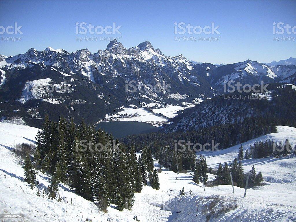 Walchensee stock photo