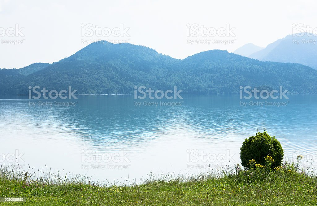 walchensee stock photo