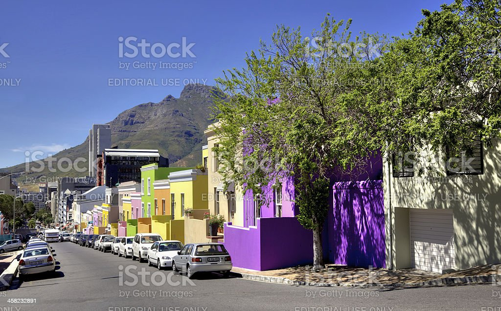 Wale Street, Bo Kaap royalty-free stock photo