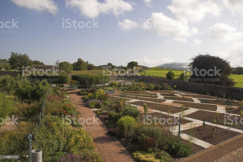 Wales National Botanic Garden royalty-free stock photo