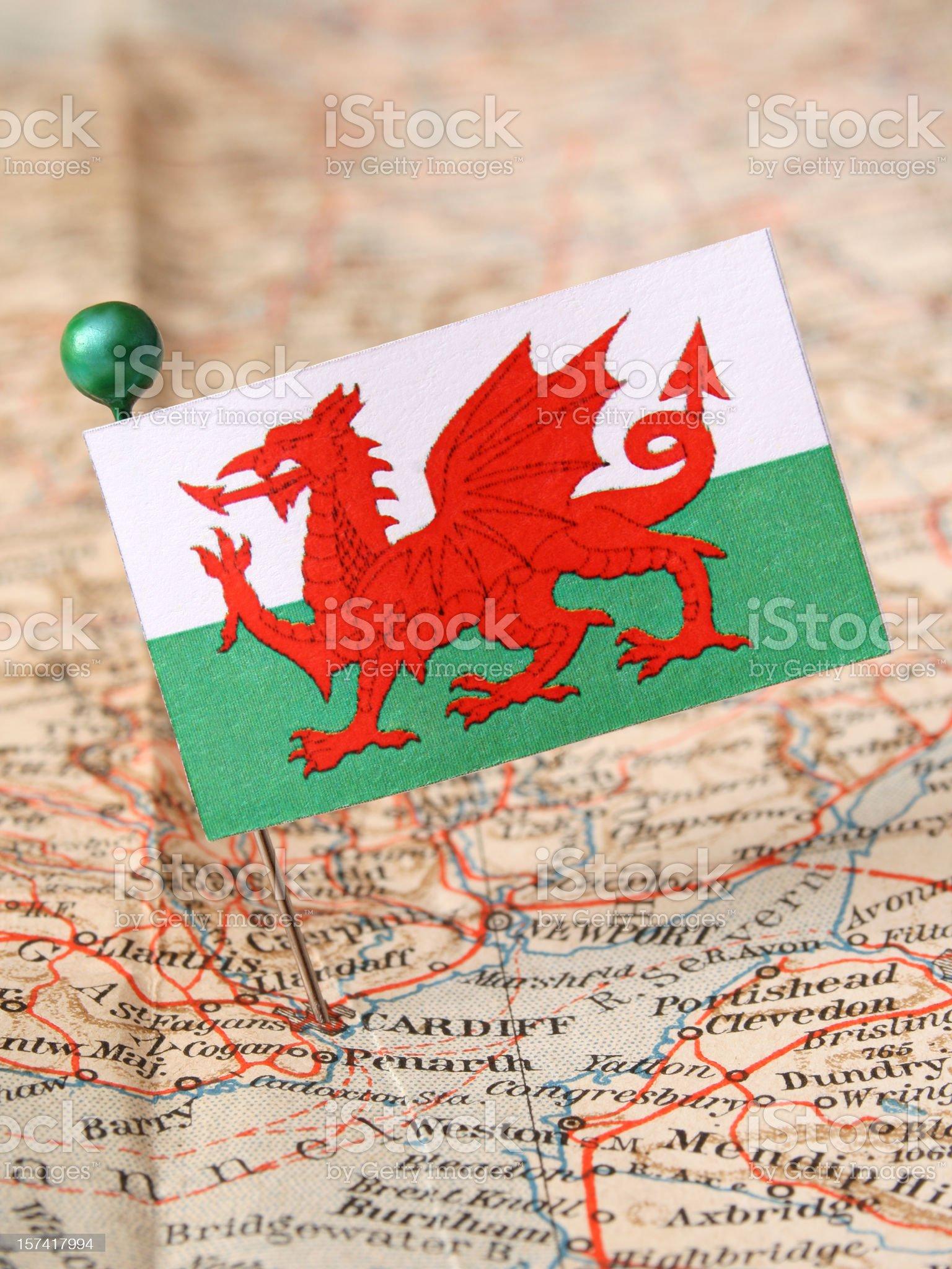 Wales royalty-free stock photo