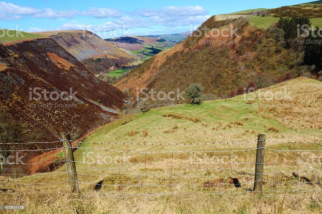 Wales-Countryside stock photo