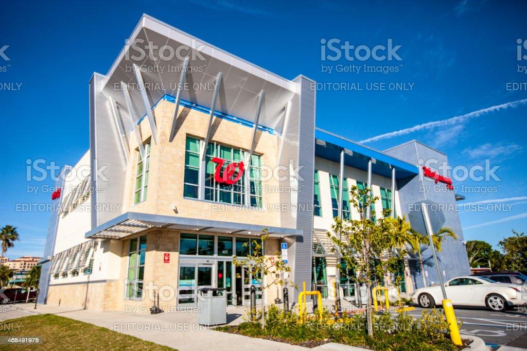 Walgreens Clearwater Beach, Florida stock photo