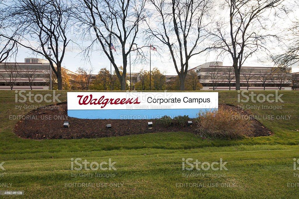 Walgreens Corporate Campus stock photo